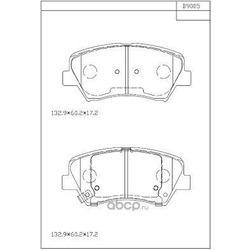 Колодки тормозные дисковые,передние (ASIMCO) KD9005