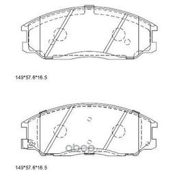 колодки тормозные (ASIMCO) KD9721