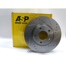 Тормозной диск MAZDA 3 2.0 (BK, BL), 5 (CR, CW) перед. вент. (ASP) 350213S