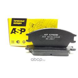 Тормозные колодки Accent, передние (ASP) K290202
