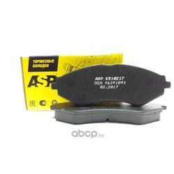 Колодки торм. передние Lacetti (ASP) K510217