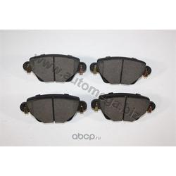 Колодки тормозные, комплект, задние (AUTOMEGA) 120003910