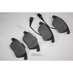 Комплект тормозных колодок, дисковый тормоз (AUTOMEGA) 120042110