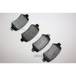 Комплект тормозных колодок, дисковый тормоз (AUTOMEGA) 120072610