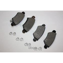 Комплект тормозных колодок, дисковый тормоз (AUTOMEGA) 120080210