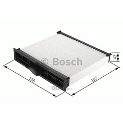 Фильтр, воздух во внутреннем пространстве (Bosch) 1987432157