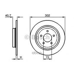 Тормозной диск (Bosch) 0986479233
