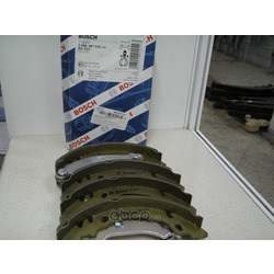 Комплект тормозных колодок (Bosch) 0986487842