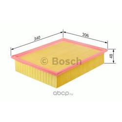 Воздушный фильтр двигателя (Bosch) 1457433087