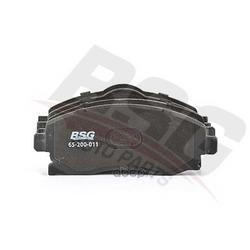 Колодки тормозные дисковые передние / OPEL Corsa-C, Meriva-A (BSG) BSG65200011