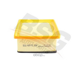 Фильтр воздушный CITROEN BERLINGO / PEUGEOT PARTNER 1,9D/2,0D 07.98 (BSG) BSG70135001