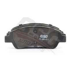 Колодки тормозные дисковые передние комплект (BSG) BSG70200011