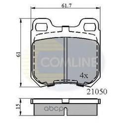 Комплект тормозных колодок, дисковый тормоз (Comline) CBP0741
