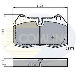 Комплект тормозных колодок, дисковый тормоз (Comline) CBP01097