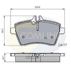Комплект тормозных колодок, дисковый тормоз (Comline) CBP01592