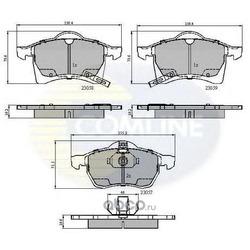 Комплект тормозных колодок, дисковый тормоз (Comline) CBP3583