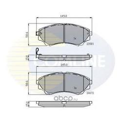 Комплект тормозных колодок, дисковый тормоз (Comline) CBP32012