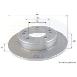 Тормозной диск (Comline) ADC2415