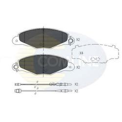 Комплект тормозных колодок, дисковый тормоз (Comline) CBP01526