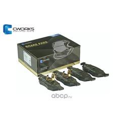 Колодки тормозные дисковые (CWORKS) G4512Z01520
