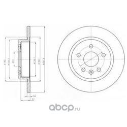 Тормозной диск (Delphi) BG4199C