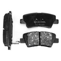 Колодки тормозные задние (Dextrim) DX7RD808