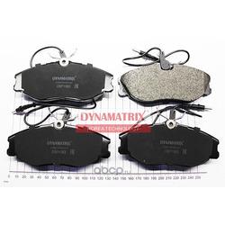 комплект колодок для дисковых тормозов (DYNAMATRIX-KOREA) DBP1063