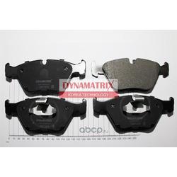комплект колодок для дисковых тормозов (DYNAMATRIX-KOREA) DBP1073