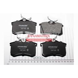 комплект колодок для дисковых тормозов (DYNAMATRIX-KOREA) DBP1083