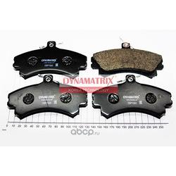 комплект колодок для дисковых тормозов (DYNAMATRIX-KOREA) DBP1093