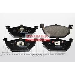 комплект колодок для дисковых тормозов (DYNAMATRIX-KOREA) DBP1094