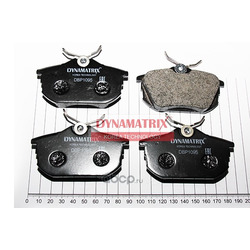 комплект колодок для дисковых тормозов (DYNAMATRIX-KOREA) DBP1095