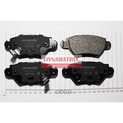 комплект колодок для дисковых тормозов (DYNAMATRIX-KOREA) DBP1294