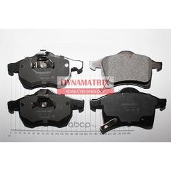 комплект колодок для дисковых тормозов (DYNAMATRIX-KOREA) DBP1295