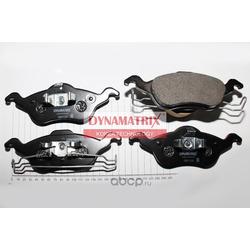 комплект колодок для дисковых тормозов (DYNAMATRIX-KOREA) DBP1318