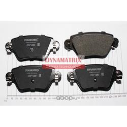 комплект колодок для дисковых тормозов (DYNAMATRIX-KOREA) DBP1380
