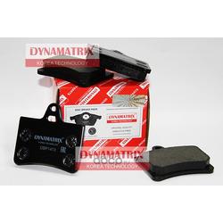 комплект колодок для дисковых тормозов (DYNAMATRIX-KOREA) DBP1413