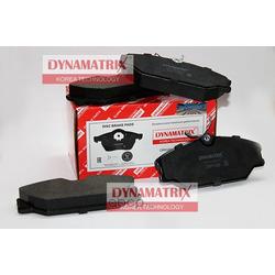 комплект колодок для дисковых тормозов (DYNAMATRIX-KOREA) DBP1420