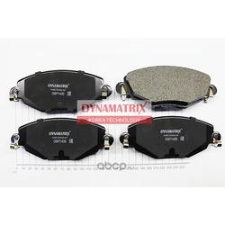 комплект колодок для дисковых тормозов (DYNAMATRIX-KOREA) DBP1425