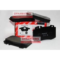 комплект колодок для дисковых тормозов (DYNAMATRIX-KOREA) DBP1426