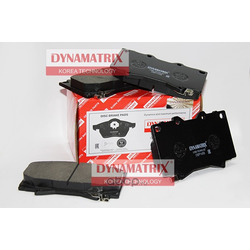 комплект колодок для дисковых тормозов (DYNAMATRIX-KOREA) DBP1456