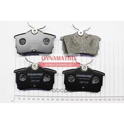 комплект колодок для дисковых тормозов (DYNAMATRIX-KOREA) DBP1506