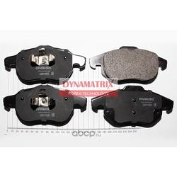 комплект колодок для дисковых тормозов (DYNAMATRIX-KOREA) DBP1520