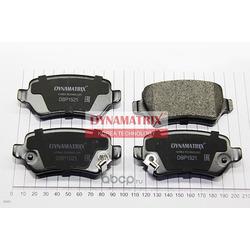 комплект колодок для дисковых тормозов (DYNAMATRIX-KOREA) DBP1521
