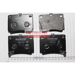 комплект колодок для дисковых тормозов (DYNAMATRIX-KOREA) DBP1570