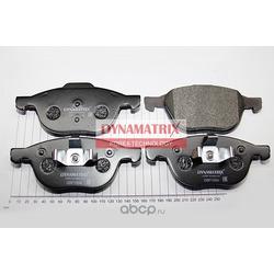 комплект колодок для дисковых тормозов (DYNAMATRIX-KOREA) DBP1594
