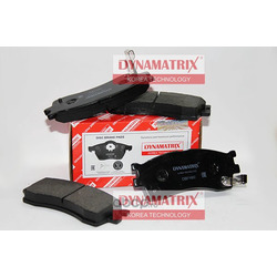 комплект колодок для дисковых тормозов (DYNAMATRIX-KOREA) DBP1602