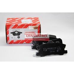 комплект колодок для дисковых тормозов (DYNAMATRIX-KOREA) DBP1604
