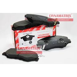 комплект колодок для дисковых тормозов (DYNAMATRIX-KOREA) DBP1658
