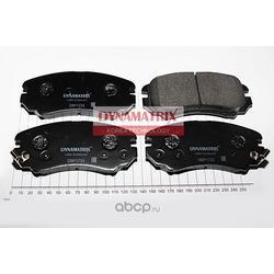 комплект колодок для дисковых тормозов (DYNAMATRIX-KOREA) DBP1733